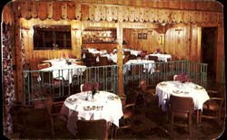 Terrace Dining Room At Pocono Gardens Lodge