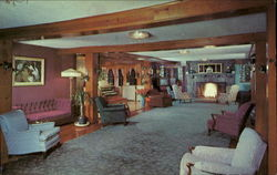 Upper Portion Of The Lobby At Strickland's Mountain Inn