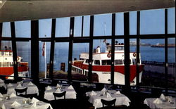 The Franciscan Restaurant, Fisherman's Wharf Postcard