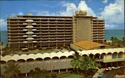 Hotel Beach & Cabana Club Postcard