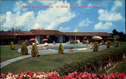 Palm Springs Home Of Alice Faye And Phil Harris