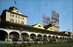 Motel Auberge Du Blvd. Laurier Inc.,, Quebec Bridge Postcard