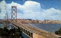 San Francisco - Oakland Bay Bridge Postcard