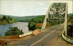 The Gulf Bridge And Connecticut River, Route 9