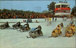 Championship Skimobile Racing In Northern New England