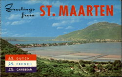 Greetings From St. Maarten Postcard