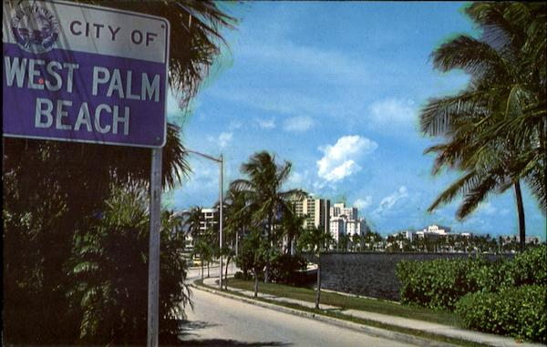 Scenic Drive In West Palm Beach Florida