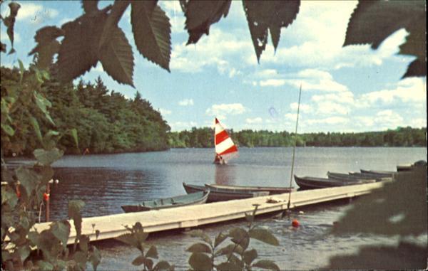 Sailing At Camp Runels Pelham, NH