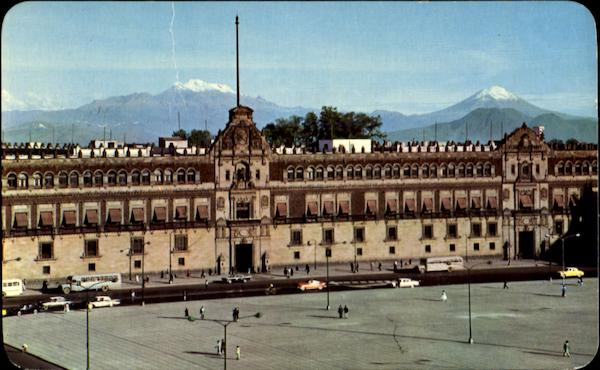 The National Palace Mexico