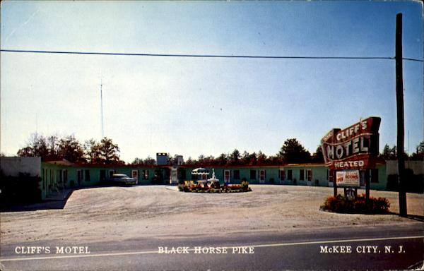 Cliff's Motel, U. S. Route 40 - 322 McKee City New Jersey