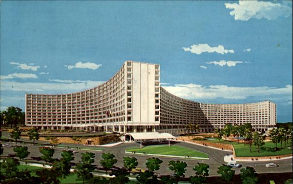 The Washington Hilton, Connecticut Ave., & Columbia Road N.W. District of Columbia