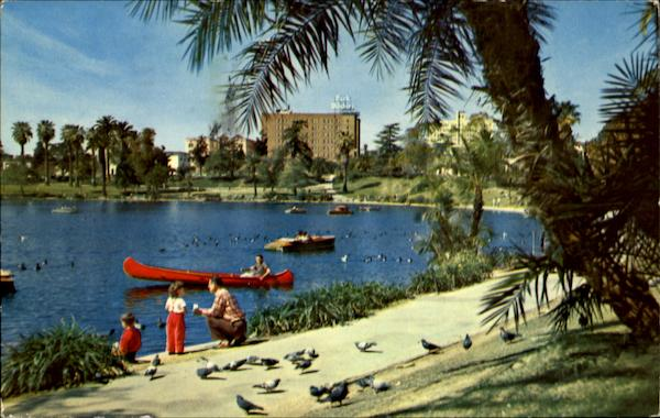 Macarthur Park Los Angeles California