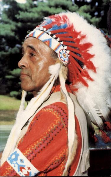 Chief Broken Arrow Native Americana