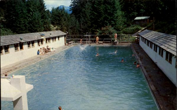 Swimming Pool Olympic National Park Olympic Hot Springs