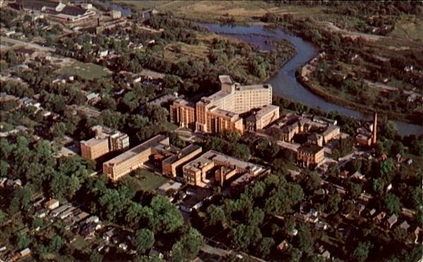 Aerial View Of Victoria Hospital London Ontario Canada
