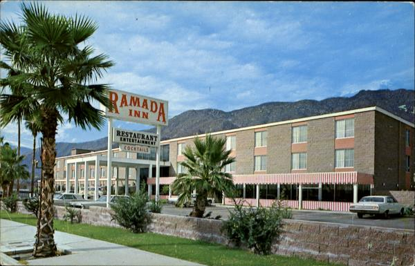 The Ramada Inn, 1177 N. Palm Canyon Drive Palm Springs California