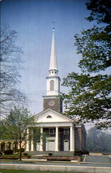 The Presbyterian Church Of Madison Postcard