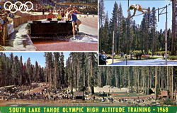 South Lake Tahoe Olympic High Altitude Training