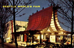 Seattle World's Fair Information Booth