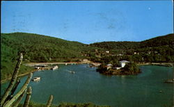 Cruz Bay Postcard