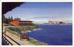 Perce Rock Postcard
