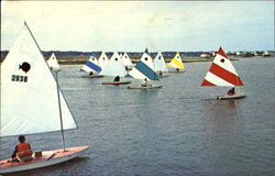 Sunfish Regatta In Banks Channel