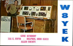 Gene Kundert, 735 E. Fifth Postcard