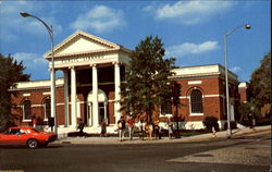 The Ferguson Public Library Postcard