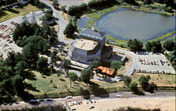 An Aerial View Of The American Shakespeare Festival Theatre