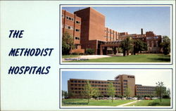 The Methodist Hospitals Postcard