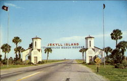 Main Entrance To Jekyll Island
