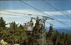 Gondola Approaching Summit Mt. Whittier