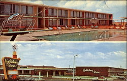 Holiday Inn Town, U. S. Highway 66 Postcard