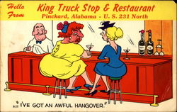 Hello From King Truck Stop & Restaurant, U. S. 231 North
