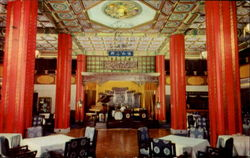 Ancient Chinese Palace Style Restaurant & Night Club Hotel Postcard