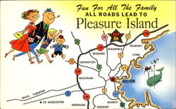 Pleasure Island, Exit 21A on Route 128