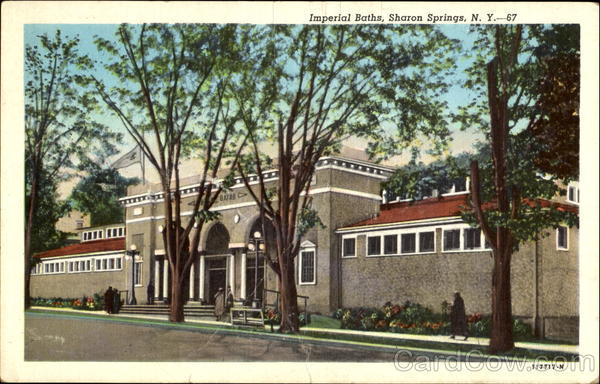 Imperial Baths Sharon Springs New York