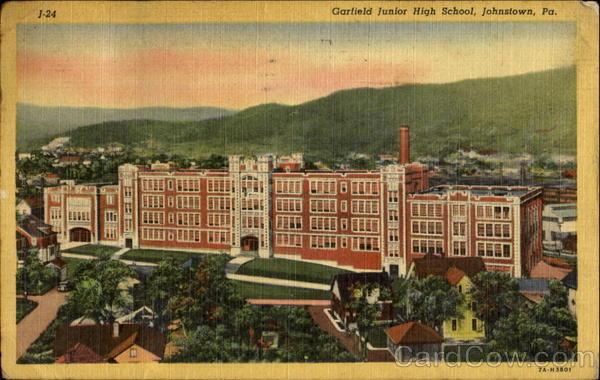 Garfield Junior High School Johnstown Pennsylvania