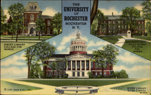 The University Of Rochester New York