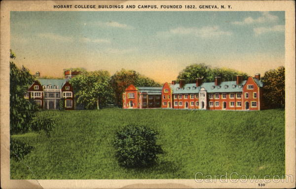 Hobart College Building And Campus Geneva New York