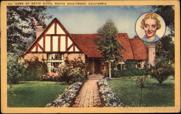 Home Of Bette Davis North Hollywood California