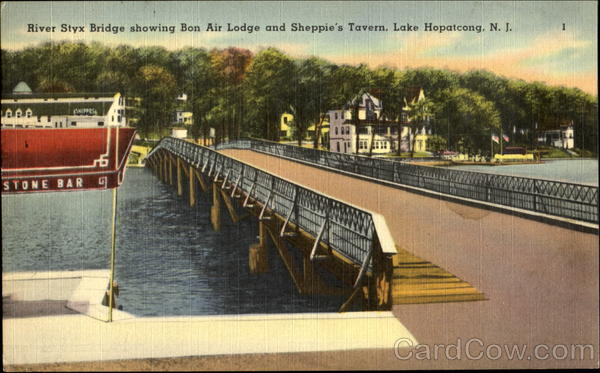 River Styx Bridge Lake Hopatcong New Jersey