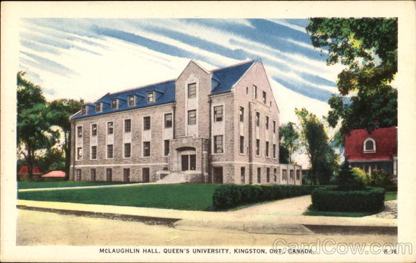 McLaughlin Hall, Queen's University Kingston Ontario Canada