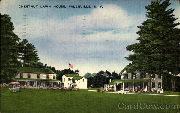 Chestnut Lawn House Palenville New York