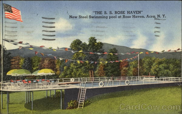 The S. S. Rose Haven, Rt. 23 New York