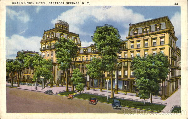 Grand union hotel saratoga springs ny for Hotels saratoga springs new york