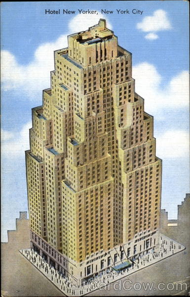 Hotel New Yorker, 34th Street at Eighth Avenue New York City