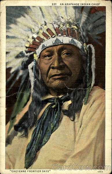An Arapahones Indian Chief Native Americana
