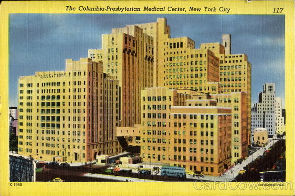 The Columbia Presbyterian Medical Center New York City