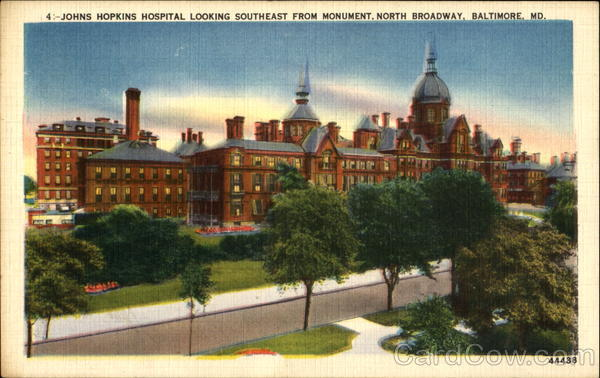 Johns Hopkins Hospital, North broadway Baltimore Maryland